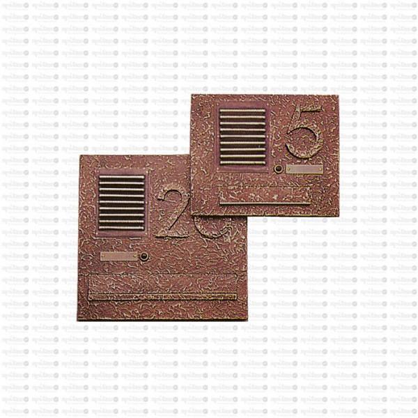Sprechanlagen-Deckplatte Struktur2 8188