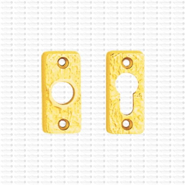 Drückerrosette Struktur1 9248 mit Schlüsselrosette 9240
