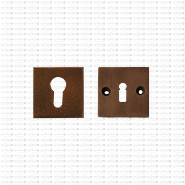 Innenrosette Bahaus 3748 mit Schlüsselrosette 3743