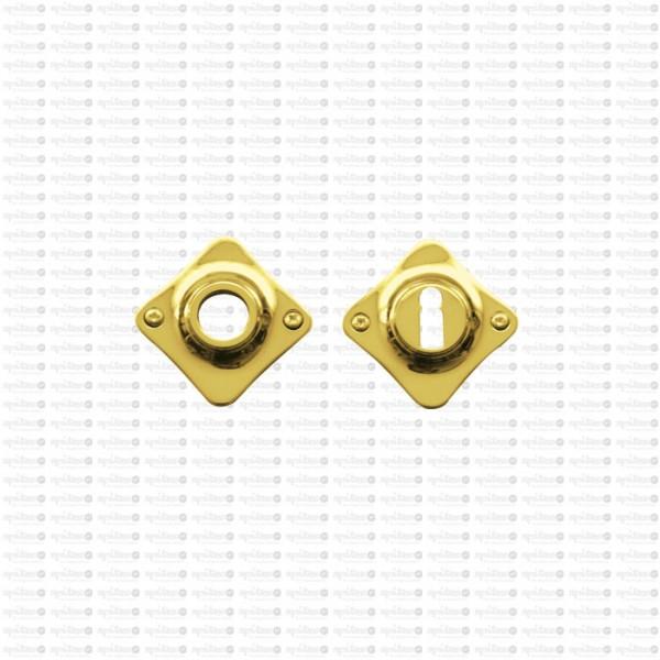 Drückerrosette Stil 2148 mit Schlüsselrosette 2140