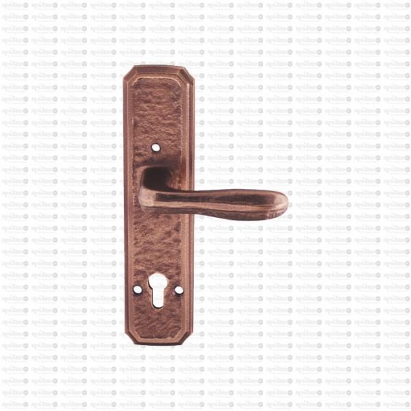 Spezialinnenschild Struktur1 7518 mit Drücker 6551